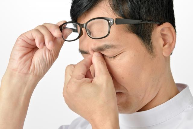 眼精疲労は早期治療を